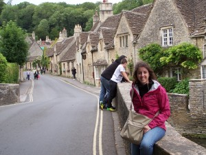 Me in Castle Combe