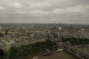 Nice view from London Eye