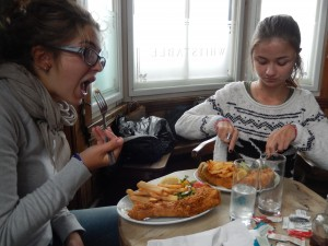 Fish and chips :P