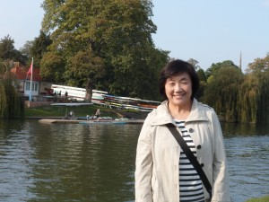 Noriko by the river