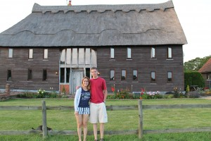 The Miller's barn with Ben