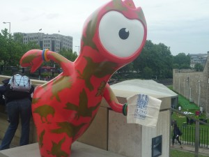 With Wenlock in Tower of London !