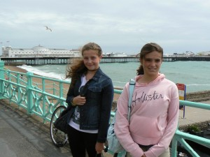 On the Pier at Brighton