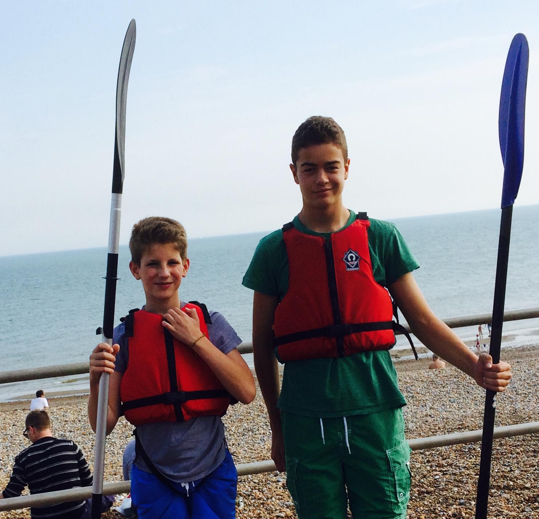 Kayaking in Hastings