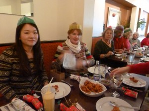 Concert Group Indian lunch at Singhli, Wed 12 Dec